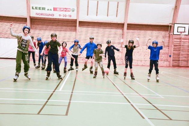 Olympiske LEKER på Krøderen skole.