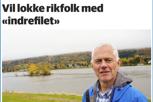 Skjermdump fra bygdeposten.no 30. oktober 2017.