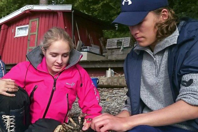 Skrevet av: Julie Stenklev Mykland, 3STB. Her er hun sammen med Erik Dramdal Gunbjørnsen.