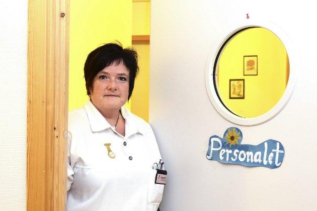HEIER PÅ FURULUND: Marit Engebretsen Velstad har i mange år arbeidet ved Furulund Bofellesskap. Hun skriver i dagens kronikk om hvorfor hun mener Furulund må få bestå.