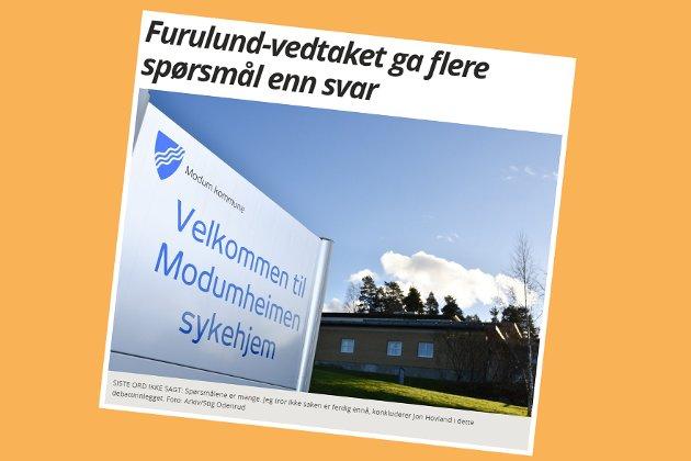 Skjermdump fra bygdeposten.no 12. desember 2017.