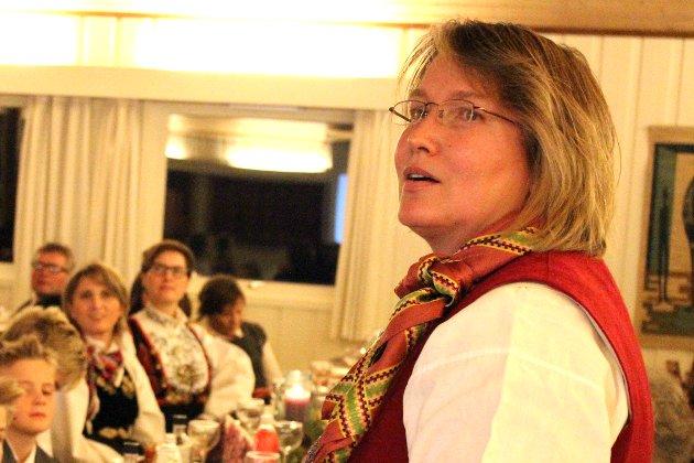 Norsk Landbruk: Ingrid M. Bermingrud Terum fra Øvre Eiker er styremedlem i Norges Bygdekvinnelag. Hun mener landbruksmeldingen fra regjeringen gjør framtiden utrygg.  ARKIVFOTO