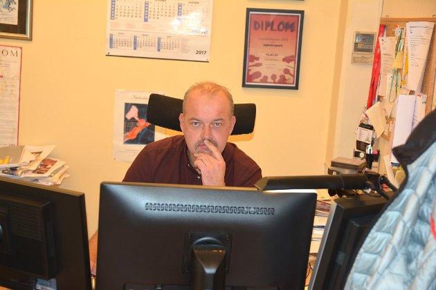 LEDER: Knut Bråthen er ansvarlig redaktør i Bygdeposten.