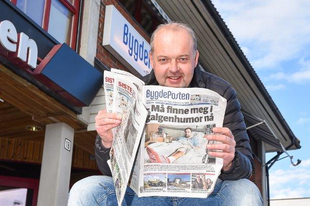 Knut Bråthen. Redaktør og daglig leder.