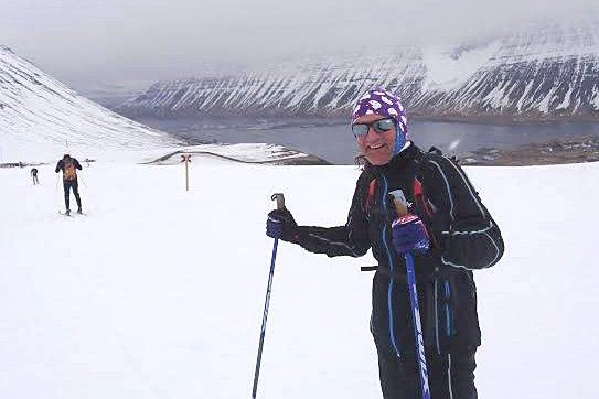 Skimaraton på Island: Arild Løvik skriver om sin opplevese å stake gjennom det 50 kilometer lange Fossavatn Ski Marathon på Island.
