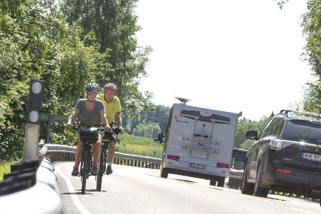 RIKSVEI 35: – Riksvei 35 er en dødsvei, skriver Hans L. Werp som mener Ståle Sørensen og MDG har en respektløs holdning når de arbeider for å reversere planene for ny vei. ARKIVFOTO