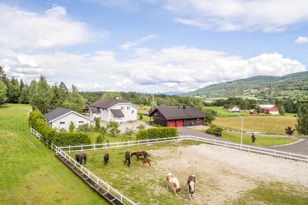 Hervig gård, Vikersund