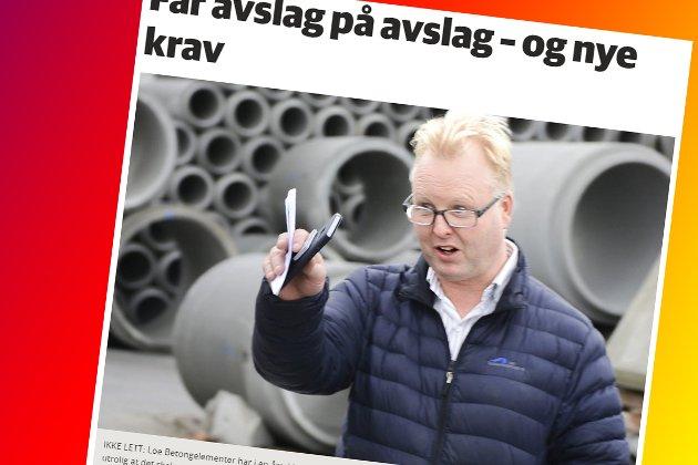 Skjermdump fra bygdeposten.no 20. september 2017.