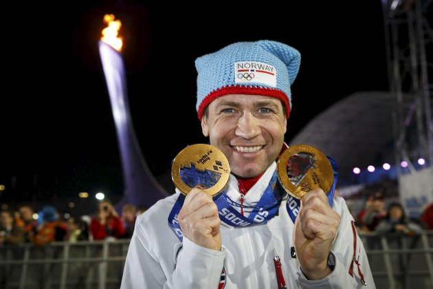 BURDE FÅTT DELTATT: Odd Flattum skriver i denne ukens Lørdagsspalte at Ole Einar Bjørndalen burde fått et «wildcard» av IOC, slik at han som takk for fremragende prestasjoner kunne deltatt i lekene i Sør-Korea.