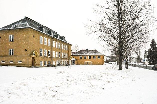 STALSBERG SKOLE: Erling Diesen mener det vil være ren og skjær vandalisme å rive Stalsberg skole.