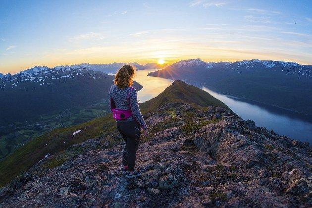 Røtter: I Manndalen i Troms har Agnes Irene Longfjeld sine samiske røtter. Hun har i sin fordypningsoppgave i norsk studert hvordan samiske diktere har vært med på å framheve den samiske kulturen i dagens Norge.