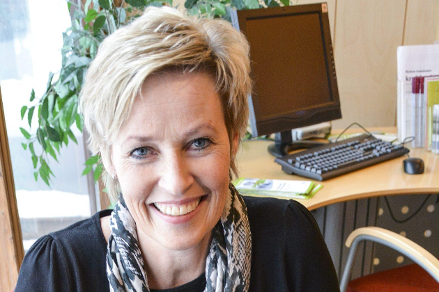 Ordfører i Sigdal, Tine Norman (SP).