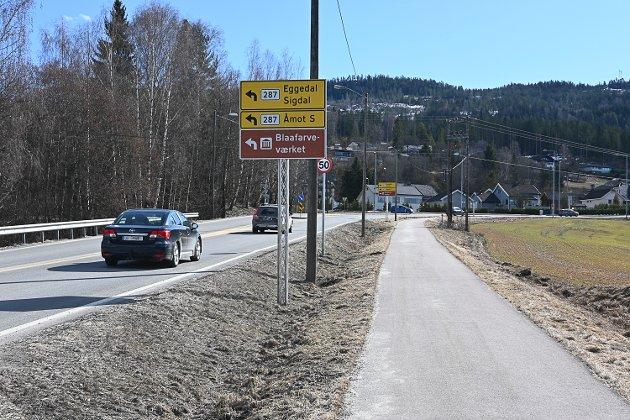 MØTE TORSDAG: Torsdag blir det folkemøte om riksvei 350 og avkjøring til fylkesvei 287 i Åmot kirke.