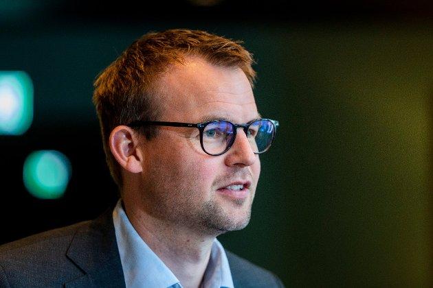 SLITER: Partileder i KrF, Kjell Ingolf Ropstad leder et parti som stamper i motvind.