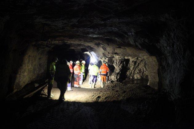 MANGE MULIGE PROBLEM: Det er i sidegangene mellom hovedtunnelene sanden har kommet inn.