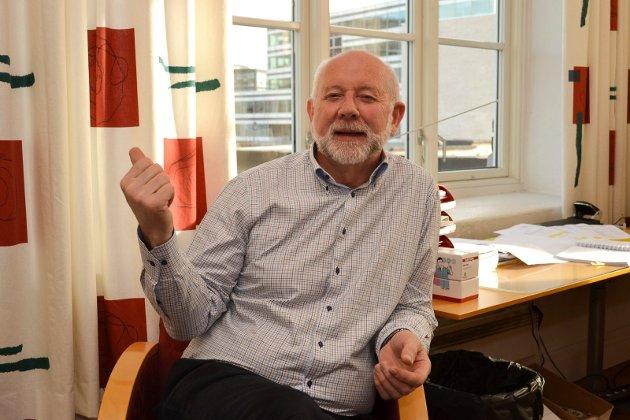 OPTIMIST: «Klarer vi å utnytte mulighetene og løse utfordringene som ligger foran oss? Jeg tror det», skriver Per Steinar Jensen, regiondirektør i NHO Buskerud.