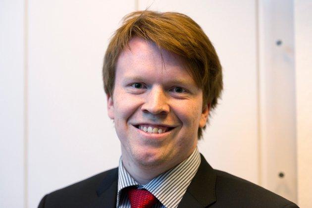 Gard Hofsvang, leder LO i Drammen og omegn.