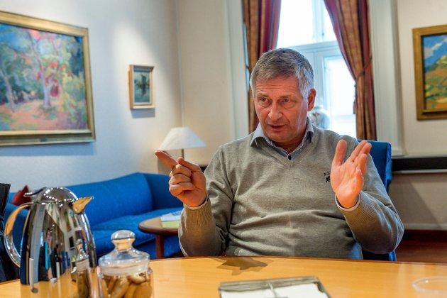 KRONIKKFORFATTEREN: Ordfører Tore O. Hansen (H).