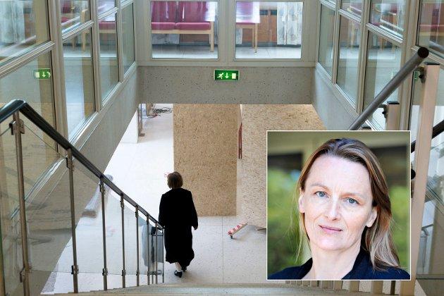 ETTERLYSER EN TINGHUS-VENN I POSISJON: Politisk redaktør i DT, Karianne Braathen (innfelt).