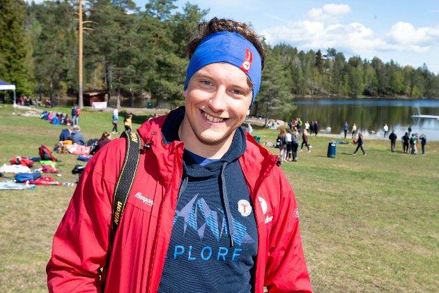 VIL GI GODE NATUROPPLEVELSER: Sigbjørn Bøtun er fagansvarlig i DNT Ung og jobber i aktivitetsavdelingen som arrangementansvarlig.