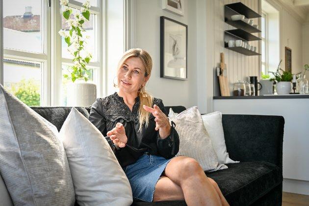 GRÜNDEREN: – Jeg tenkte aldri på at det jeg satte i gang for 14 år siden skulle vokse til å bli en arbeidsplass for fire personer. Jeg bare holdt på med jobben jeg elsker, forteller Merete Anderssen.
