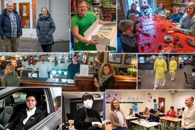 De siste dagene før jul har Drammens Tidende møtt mange av våre hverdagshelter - og mange flere er det. De har trosset smittefare, covid-19, og nedstengninger. På vegne av leserne og Drammens Tidende: Tusen takk for innsatsen.