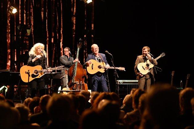 TOPP: Konserten med Jonas Fjeld, Judy Collins og Chatham County Line fikk terningkast 6 av DTs anmelder etter tirsdagens opptreden.
