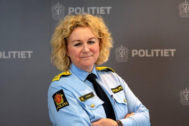 Christine Fossen er politimester Sør-Øst politidistrikt.