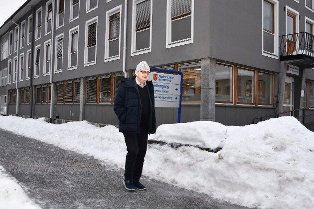 Arne Pedersen er den siste lederen for kontrollutvalget i Nedre Eiker kommune