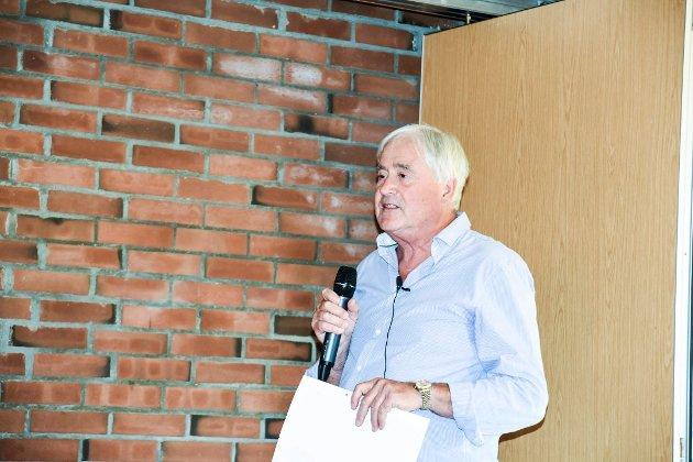 LITE TILFREDS: Tor Horgen Ellingsen er lite tilfreds med utviklingen i den nye storkommunen.