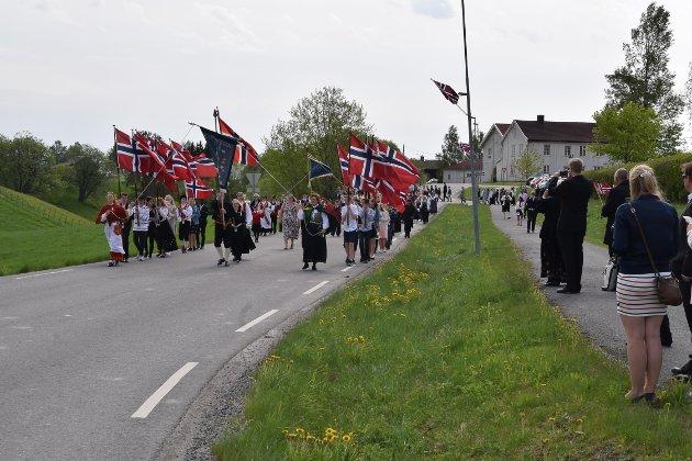17. mai i Kirkebygda.