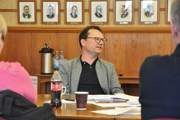 Jan Olsen, ordførerkandidat Nordkapp SV