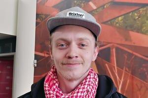 Erik Bjønness-Hansen. Ungdomstillitsvalgt. Fagforbundet Finnmark