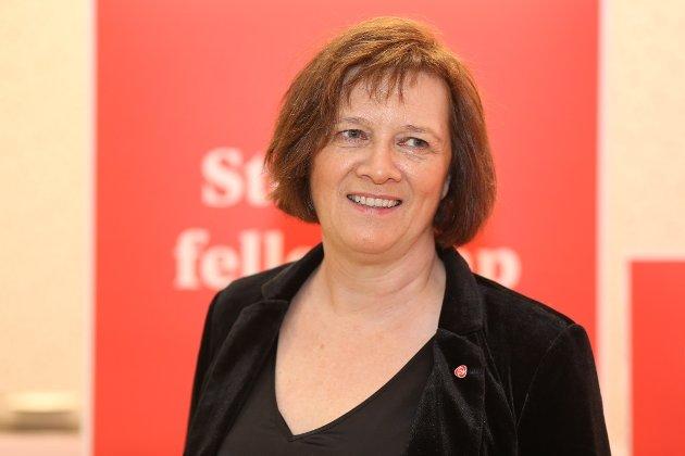 Leder i Finnmark Arbeiderparti, Kristina Hansen.