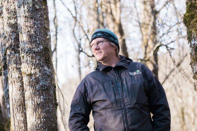 Hans Erik Lerkelund, fagsjef naturforvaltning i Norsk Friluftsliv.