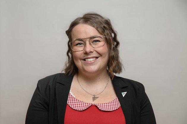 Katrine Boel Gregussen, fylkestingsrepresentant for Troms og Finnmark SV