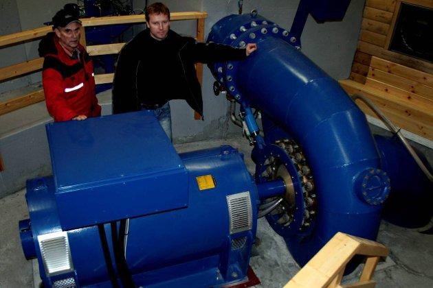 SMÅKRAFTA VIKTIG: Utbygging og drift av småkraftverk skapar store positive ringverknader lokalt, skriv Terje Engvik.