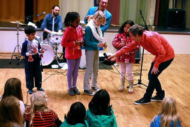 Good Time Charlie med barnekonsert.