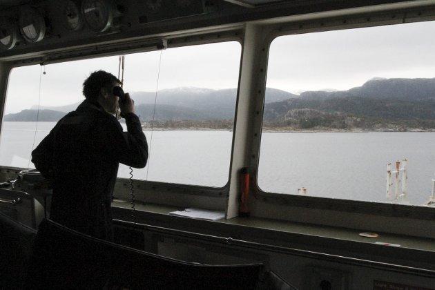 LITE I SIKTE: For dei som har tru på utvikling av godstransport på sjø, er regjeringas NTP-melding lite å rope hurra for, meiner Arbeidarpartiet.