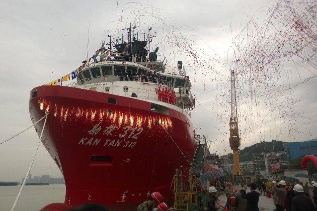 Havyard-skip bygd i Kina.