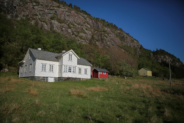 BREDVIK: Garden til Bredvik nytta Svardal som gøymestad fleire gonger.