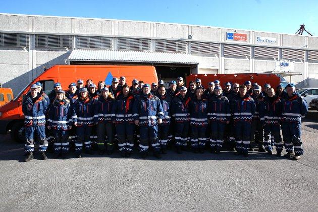 Sivilforsvaret si avdeling i Florø tel i underkant av 60 mann, og er brukt mykje på ulike innsatsar, mellom anna under brannen i Skatestraumtunnelen, fleire leitaksjonar lokalt og husbrannane i Svelgen.
