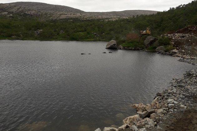 UNØDVENDIG: Norge som nasjon har eit kraftoverskot, skriv Raudt, som no tek til orde for å kutte dei største vindkraftprosjekta. Her frå oppstarten av vindkraftsastinga på Guleslettene.