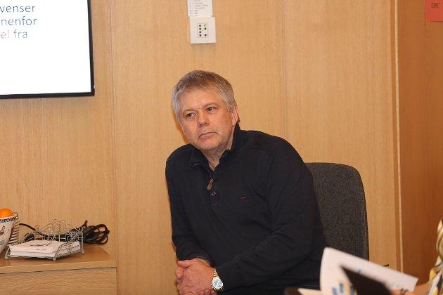 MOTSTANDAR: Tommy Nygård. meiner at Bremanger kommune bør seie nei til vindkraft på Bremangerlandet.