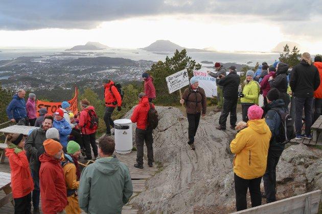 Gå for naturen - avskjed med Guleslettene på Brandsøyåsen søndag 12. mai