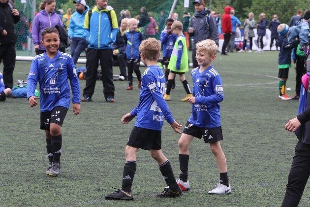 Frå Konglerike Cup i Eikefjord, 16. juni.