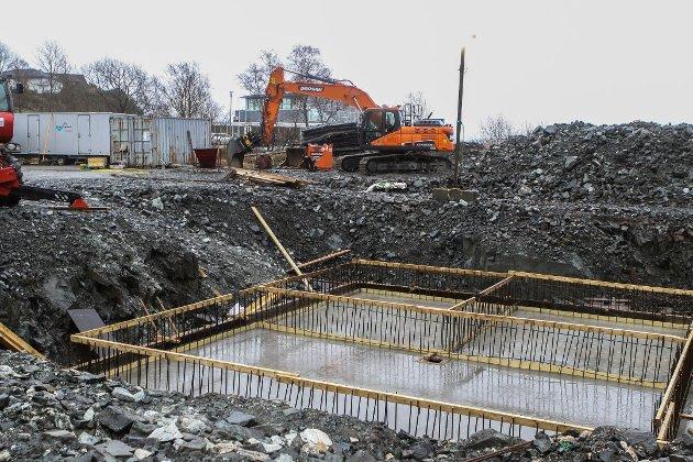KREV INN FOR LITE: Norske kommunar har i årevis kravd for låge avgifter for vatn og avløp frå innbyggjarane sine. Det skapar store etterslep. Her frå bygginga av Kanalen renseanlegg.