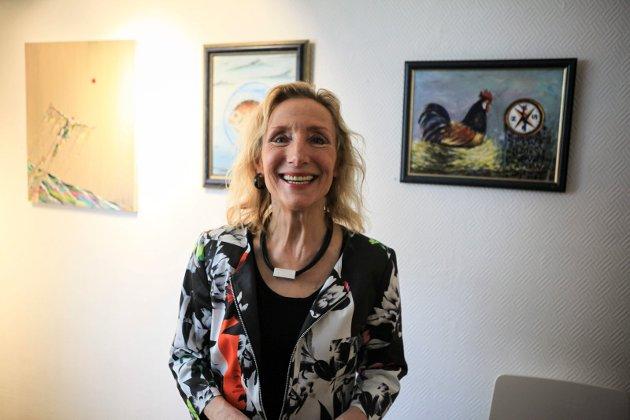 VIKTIGAST? Gunhild Bjelland stiller spørsmål om det verkeleg er grendaskulane som er nøkkelen til om det skal vere lys i husa i grendene og på øyane i framtida.
