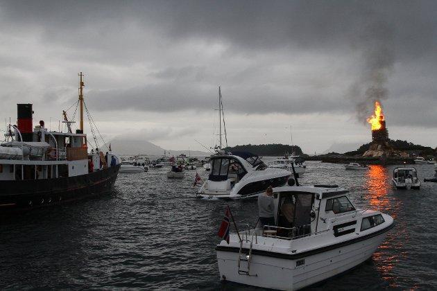 Jonsok på Florøvika