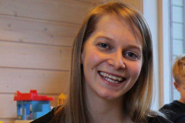 Kristina Mundal, barnehagelærar i Vieåsen barnehage i Førde.